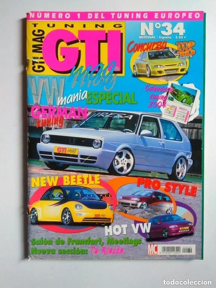 Coches: LOTE 7 REVISTAS GTI MAG - Foto 8 - 176217062