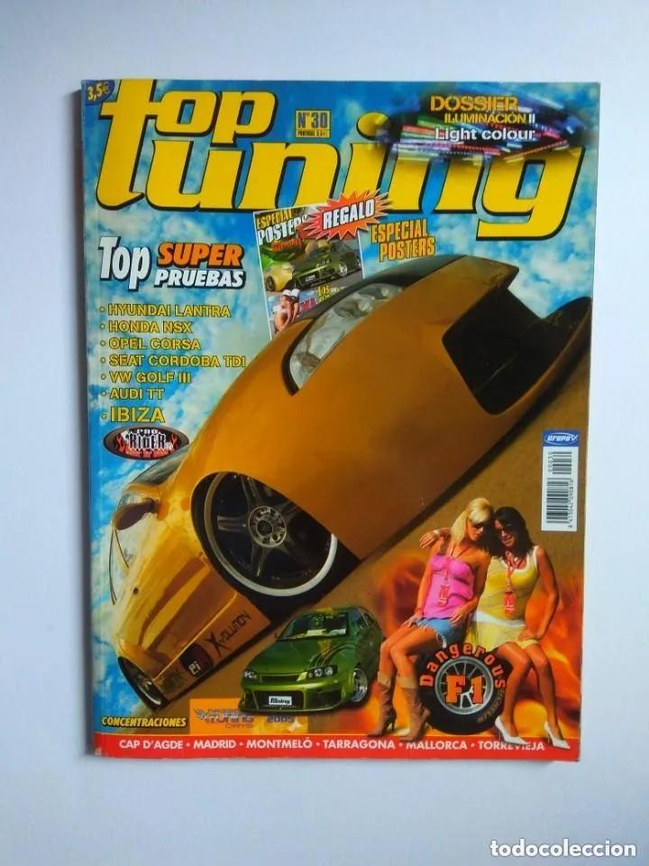 Coches: LOTE 10 REVISTAS TOP TUNING - Foto 8 - 176217642