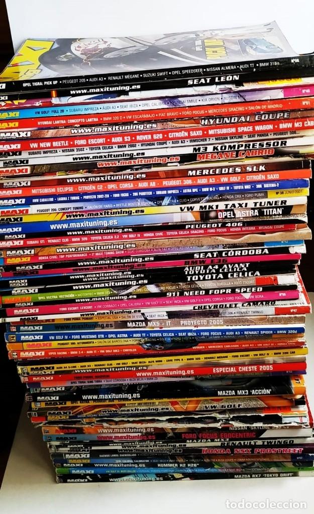 SUPERLOTE 58 REVISTAS MAXI TUNING (Coches y Motocicletas Antiguas y Clásicas - Revistas de Coches)