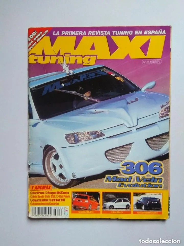 Coches: SUPERLOTE 58 REVISTAS MAXI TUNING - Foto 2 - 176218970