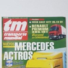 Coches: REVISTA TM - Nº 111 -TRANSPORTE MUNDIAL - CAMIÓN - SEPTIEMBRE 1996. Lote 176397215