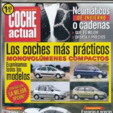 Voitures: REVISTA COCHE ACTUAL Nº 772 AÑO 2003. COMP: BMW 745I Y BMW 740D. FORD FIESTA 1.4 16V TREND Y. Lote 176772827