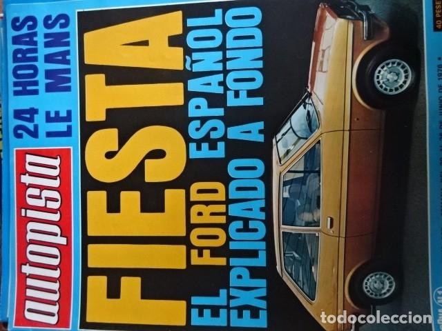 REVISTA AUTOPISTA 905 FORD FIESTA (Coches y Motocicletas Antiguas y Clásicas - Revistas de Coches)