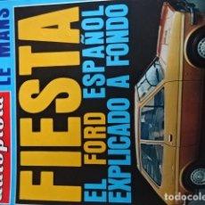 Coches: REVISTA AUTOPISTA 905 FORD FIESTA. Lote 177189345