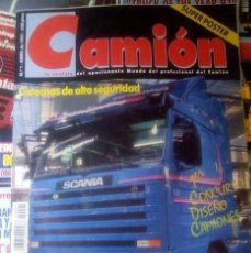 Coches: MUNDO CAMION Nº 1 ABRIL 1989 - CAMIONES - REVISTA. Lote 177394018