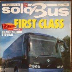 Carros: SUPLEMENTO SOLO BUS JUNIO 1997 AUTOBUSES VOLVO. Lote 177397154