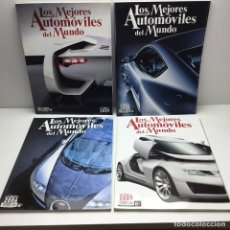 Coches: LOTE 4 REVISTAS LOS MEJORES AUTOMÓVILES DEL MUNDO - EDICIONES ESPECIALES - 2006, 2007, 2008 Y 2009. Lote 177397647
