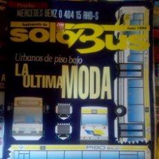 Carros: SUPLEMENTO SOLO BUS JUNIO 1994 AUTOBUSES MERCEDES URBANOS PISO ALTO ULTIMA MODA. Lote 177398724
