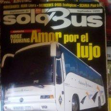 Carros: SUPLEMENTO SOLO BUS SEPTIEMBRE 1996 AUTOBUSES AMOR POR EL LUJO MERCEDES ECOLOGICOS UNVI XEUTO. Lote 177398862