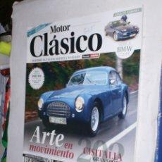 Coches: REVISTA MOTOR CLASICO Nº302 ABRIL2013,BMW SERIE8,CISITALIA GS,R/4 PARISIENNE,MGA1600,CLASSIC MADRID. Lote 177502049