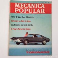Coches: MECÁNICA POPULAR, VOL. 38 Nº 5, MAYO 1966, ÍNDICE EN EL INTERIOR. Lote 177584648