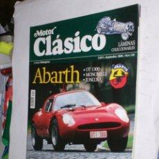 Coches: REVISTA MOTOR CLASICO Nº248 SEPTIEMBRE 2008 ABARTH ,GOODWOOD FESTIVAL,DELAHAYE 235,SEAT 1430 FU . Lote 178041475