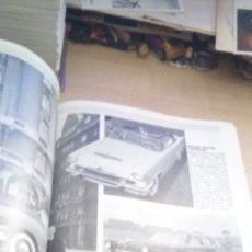 Coches: REVISTA SUECA DE 1993 COCHES CLASICOS ANTIGUOS CON 200 FOTOS EN BLANCO Y NEGRO. Lote 178099905
