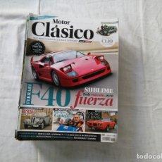 Coches: MOTOR CLÁSICO - REVISTA - Nº 301 - FERRARI F40. Lote 178205061