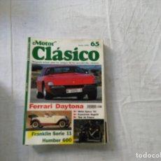 Coches: MOTOR CLÁSICO - REVISTA - Nº 65 - FERRARI DAYTONA. Lote 178240080