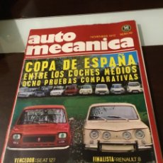 Coches: ANTIGUA REVISTA AUTOMECÁNICA. Lote 178632507