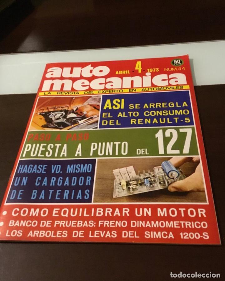 ANTIGUA REVISTA AUTOMECÁNICA (Coches y Motocicletas Antiguas y Clásicas - Revistas de Coches)