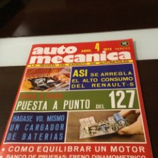 Coches: ANTIGUA REVISTA AUTOMECÁNICA. Lote 178632635