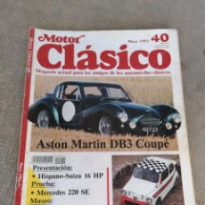 Coches: MOTOR CLÁSICO 40. Lote 178654341