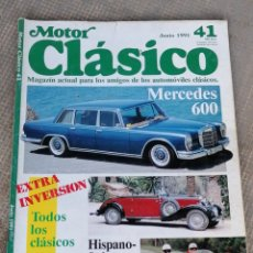 Coches: MOTOR CLÁSICO 41. Lote 178671443