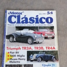 Coches: MOTOR CLÁSICO 54. Lote 178671643