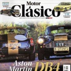 Coches: MOTOR CLASICO N. 355 ABRIL 2018 - EN PORTADA: ASTON MARTIN DB4 (NUEVA). Lote 178787260