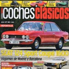 Coches: COCHES CLASICOS N. 160 - EN PORTADA: SEAT 124 SPORT COUPE 1600 (NUEVA). Lote 178851716