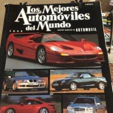 Coches: LOS MEJORES AUTOMOVILES DEL MUNDO 1996. Lote 178949043
