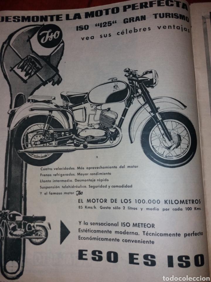 Coches: Revista Velocidad n° 37 1961. Barreiros Pegaso Iso. - Foto 3 - 179196887