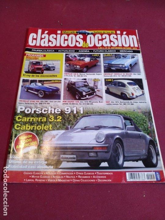 REVISTA CLASICOS DE OCASION (Coches y Motocicletas Antiguas y Clásicas - Revistas de Coches)