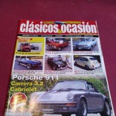 Coches: REVISTA CLASICOS DE OCASION. Lote 179225978