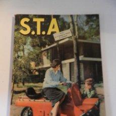 Coches: S.T.A. 42 1959 REVISTA DE LA SOCIEDAD DE TÉCNICOS DE AUTOMOCIÓN SEAT PEGASO BULTACO MONTESA DKW. Lote 180023027