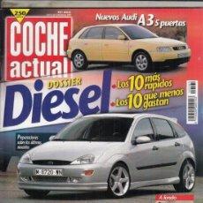 Coches: REVISTA COCHE ACUTAL Nº 565 AÑO 1999. COMP: FIAT BRAVO 1.8 16V GT Y TOYOTA COROLLA FORTUNA G6R. . Lote 180133855