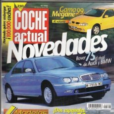 Coches: REVISTA COCHE ACTUAL Nº 566 AÑO 1999. PRU: MAZDA 323 F 1.8 GT. C:AUDI S4 BITURBO Y MERCEDES C43 AMG.. Lote 180134051