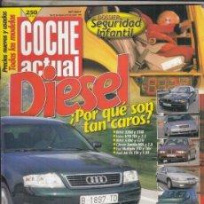 Coches: REVISTA COCHE ACUTAL Nº 567 AÑO 1999. PRU: RENAULT CLIO 1.6 SI 5P. PORSCHE 911 CARRERA 4 TIPTRONIC. . Lote 180134216