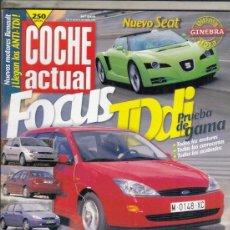 Coches: REVISTA COCHE ACTUAL Nº 569 AÑO 1999. PRUEBA: HONDA HR-V. BMW M COUPE. . Lote 180134680