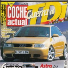 Coches: REVISTA COCHE ACTUAL Nº 572 AÑO 1999. COMP:FORD FOCUS 2.0I CHIA 4P Y OPEL ASTRA 1.8 16V ELEGANCE 4P.. Lote 180135186