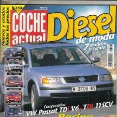 Coches: REVISTA COCHE ACTUAL Nº 573 AÑO 1999. PRUEBA: BMW 730D STEPTRONIC. COMPARATIVA: VW PASSAT 2.5 V6 TDI. Lote 180135352