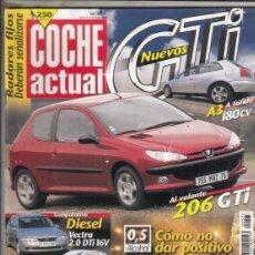 Coches: REVISTA COCHE ACUTAL Nº 577 SÑO 1999. PRUEBA: AUDI A3 1.8T QUATTRO. SUBARU OUTBACK 2.5 AWD. . Lote 180136710