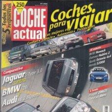 Coches: REVISTA COCHE ACUTAL Nº 582 AÑO 1999. PRUEBA: PEUGEOT 206 GTI. JAGUAR S-TYPE 3.0 Y RIVALES. . Lote 180138251