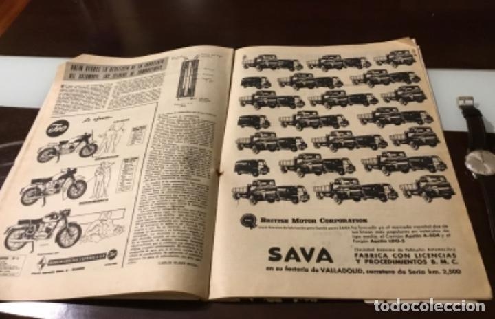 Coches: Antigua revista autopista motor Perkins vehículos Rover Seat 1400 Barreiros Sava vespacar - Foto 10 - 180149958
