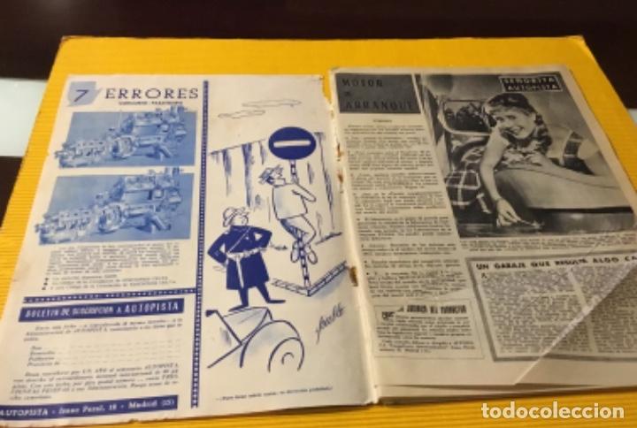 Coches: Revista autopista número 3 1962 extraordinario Pegaso reportaje increíble - Foto 2 - 180199777