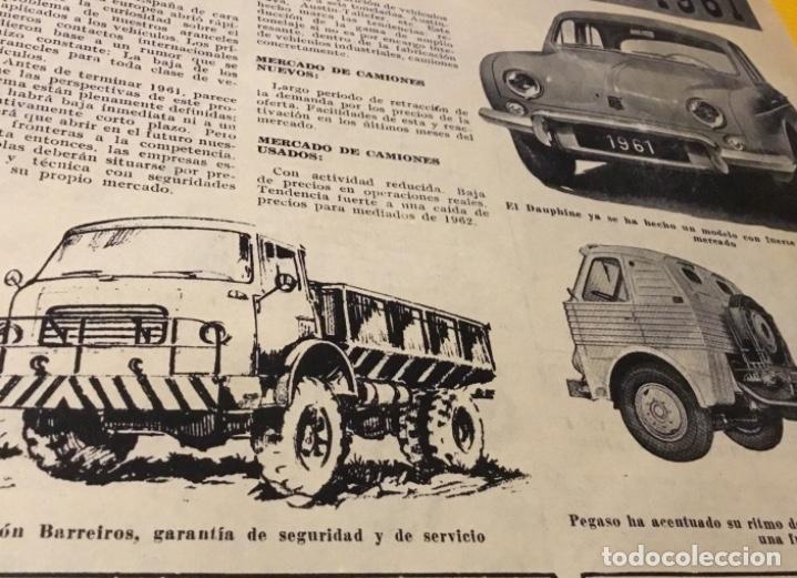 Coches: Revista autopista número 3 1962 extraordinario Pegaso reportaje increíble - Foto 5 - 180199777