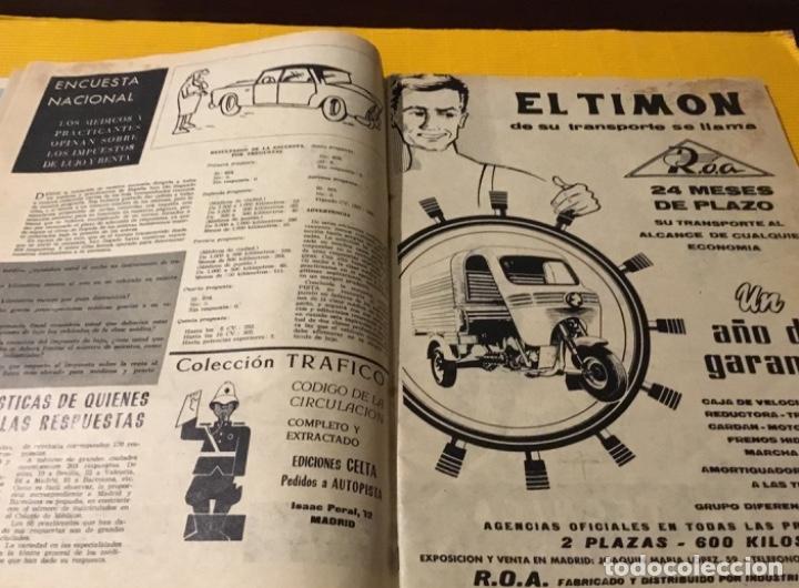 Coches: Revista autopista número 3 1962 extraordinario Pegaso reportaje increíble - Foto 8 - 180199777