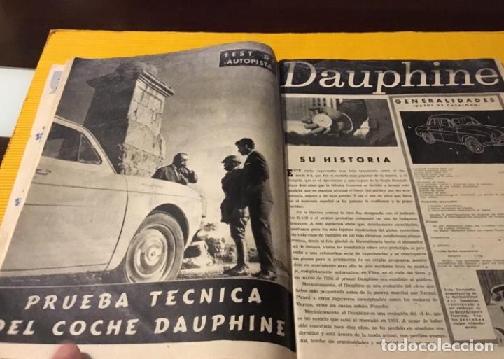 Coches: Revista autopista número 3 1962 extraordinario Pegaso reportaje increíble - Foto 9 - 180199777