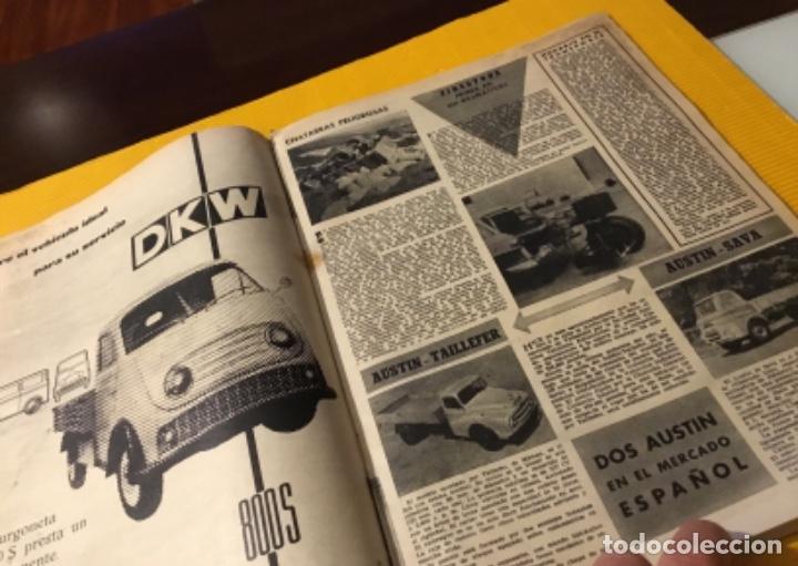 Coches: Revista autopista número 3 1962 extraordinario Pegaso reportaje increíble - Foto 16 - 180199777
