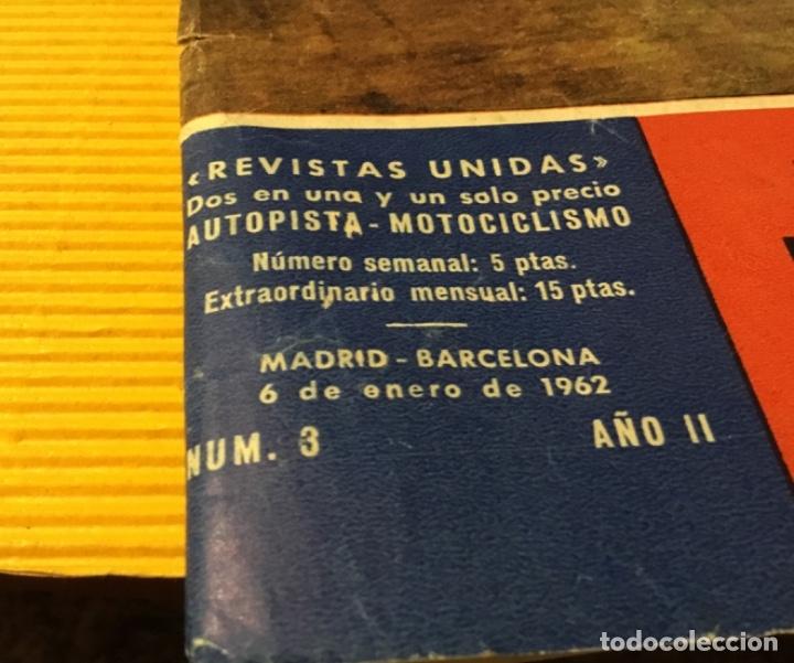 Coches: Revista autopista número 3 1962 extraordinario Pegaso reportaje increíble - Foto 25 - 180199777