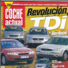 Voitures: REVISTA COCHE ACUTAL Nº 676 AÑO 2001. PRUEBA: CITROEN C5 2.2 HDI. CHRYSLER VOYAGER 2.5 CRD LX. . Lote 180243405