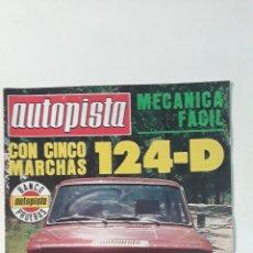 Coches: AUTOPISTA Nº959-1997-SEAT 124--MECANICA FACIL. Lote 182476062