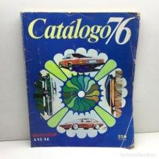 Coches: REVISTA CATÁLOGO VELOCIDAD ANUAL 76 - AÑOS 70 - AUTOMOCIÓN. Lote 182604452